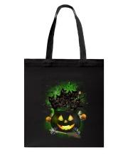 Black Cat In Pot 0708 Tote Bag thumbnail