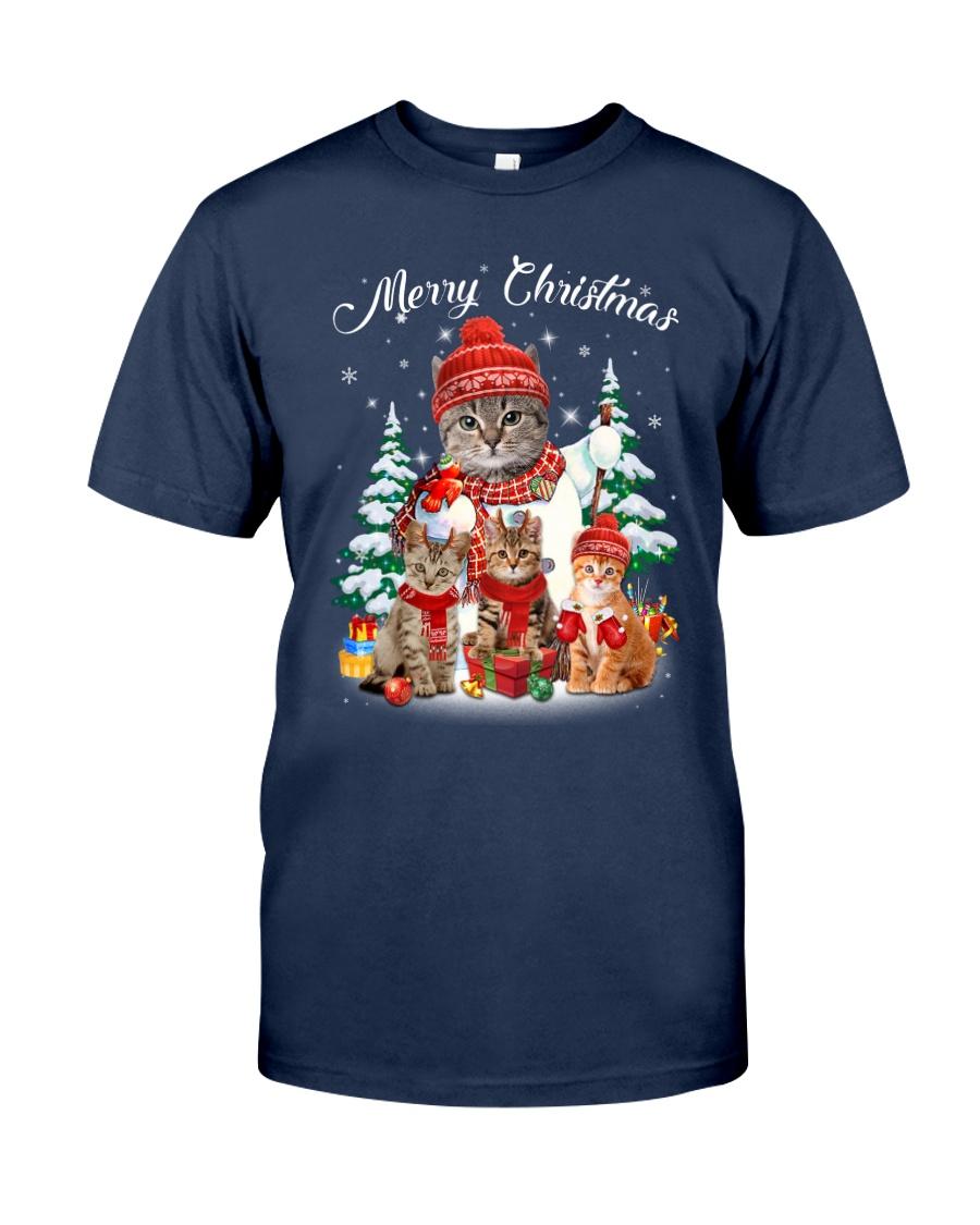 Cat - Merry Christmas Classic T-Shirt