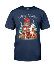 Cat - Merry Christmas Classic T-Shirt front