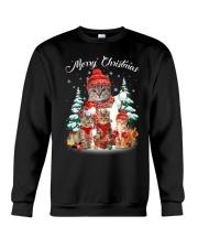 Cat - Merry Christmas Crewneck Sweatshirt thumbnail
