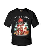 Cat - Merry Christmas Youth T-Shirt thumbnail