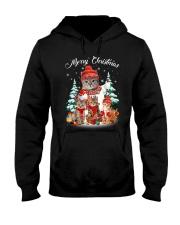 Cat - Merry Christmas Hooded Sweatshirt thumbnail