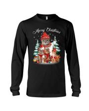 Cat - Merry Christmas Long Sleeve Tee thumbnail