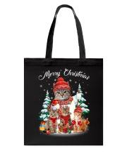 Cat - Merry Christmas Tote Bag thumbnail