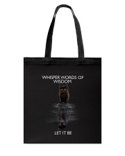 Black cat dream Tote Bag thumbnail