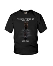 Black cat dream Youth T-Shirt thumbnail