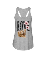 Maine Coon LOVE Ladies Flowy Tank thumbnail