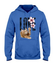 Maine Coon LOVE Hooded Sweatshirt thumbnail