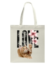 Maine Coon LOVE Tote Bag thumbnail