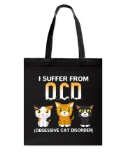 Cat OCD Tote Bag thumbnail