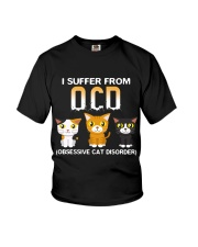 Cat OCD Youth T-Shirt thumbnail