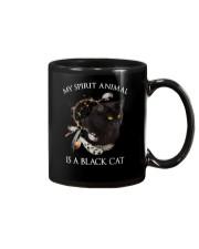 Black cat spirit animal Mug thumbnail
