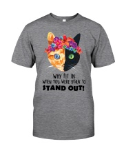 Cat born to stand out 0910 Classic T-Shirt thumbnail