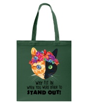 Cat born to stand out 0910 Tote Bag thumbnail