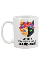 Cat born to stand out 0910 Mug back