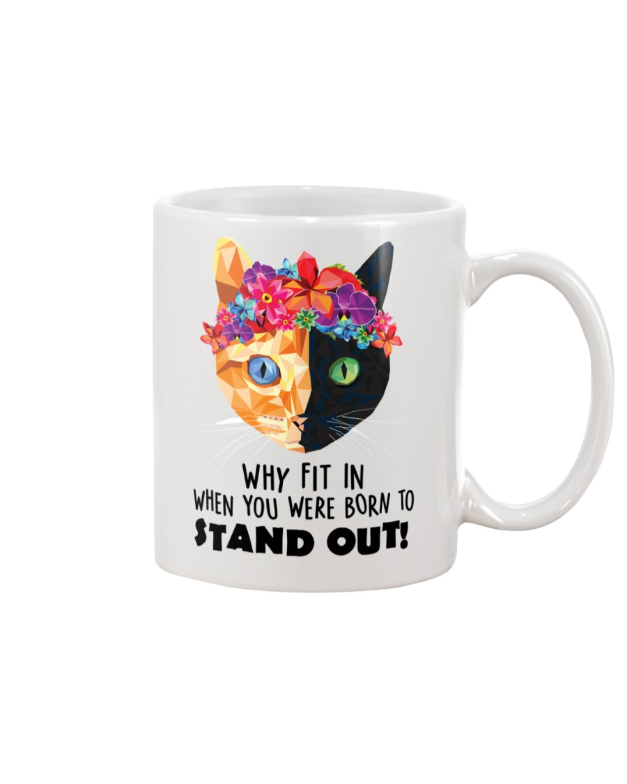 Cat born to stand out 0910 Mug