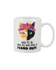Cat born to stand out 0910 Mug front