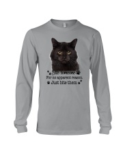Cat Bite Someone 0410  Long Sleeve Tee thumbnail