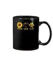 Peace - Love - Cats Mug thumbnail