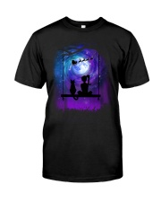Cat And Me Christmas Classic T-Shirt thumbnail