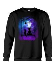 Cat And Me Christmas Crewneck Sweatshirt front