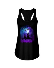 Cat And Me Christmas Ladies Flowy Tank thumbnail