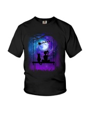Cat And Me Christmas Youth T-Shirt thumbnail