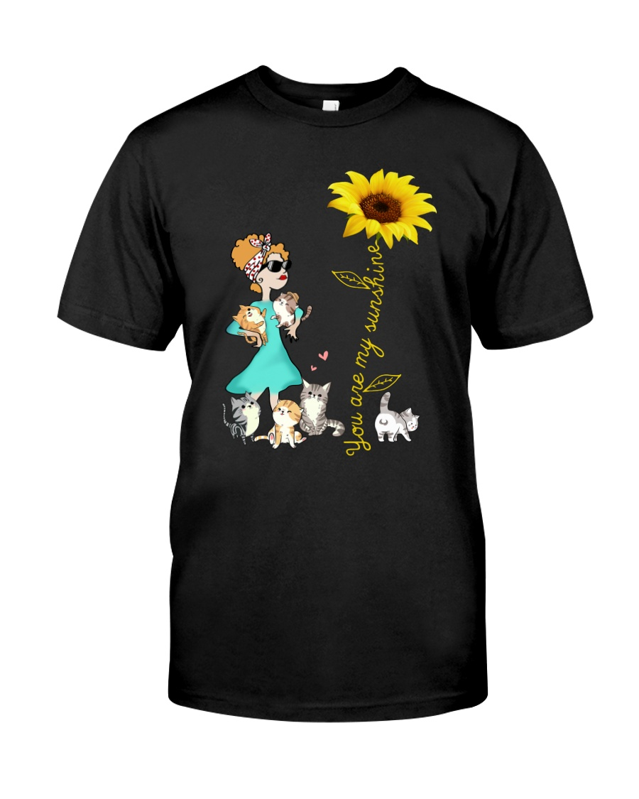 Cat You are my sunshine 1209 Classic T-Shirt