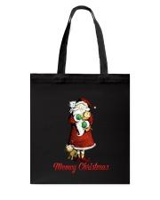 Cat Santa meowy christmas Tote Bag thumbnail
