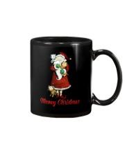 Cat Santa meowy christmas Mug thumbnail
