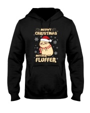 Meow christmas 1009 Hooded Sweatshirt thumbnail
