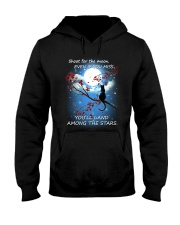 Cat Moon And Star Hooded Sweatshirt tile