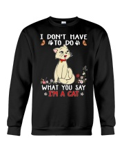 I'm A Cat Crewneck Sweatshirt thumbnail