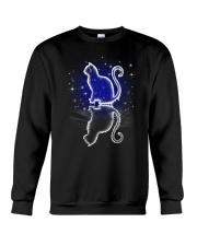 Cat ice shadow 1109 Crewneck Sweatshirt front