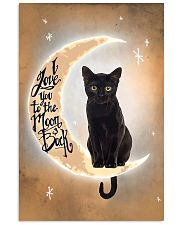Black Cat Love Moon And Back 2512 11x17 Poster front