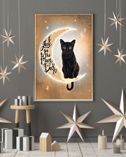 Black Cat Love Moon And Back 2512 11x17 Poster lifestyle-holiday-poster-1