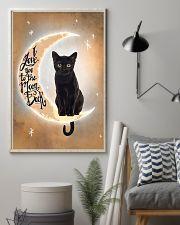 Black Cat Love Moon And Back 2512 11x17 Poster lifestyle-poster-1