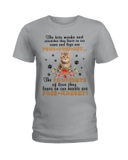 Cat Purrmanent  Ladies T-Shirt thumbnail