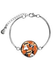 Black Cat Boo  Metallic Circle Bracelet thumbnail