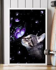 Cat Butterfly 11x17 Poster lifestyle-poster-4