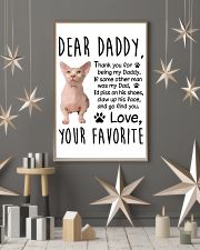 Bambino Dear Daddy 1512 11x17 Poster lifestyle-holiday-poster-1