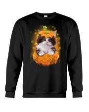 Cute cat Halloween Crewneck Sweatshirt thumbnail