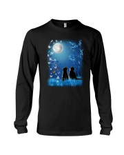 Cat with butterfly at night 2009 Long Sleeve Tee thumbnail
