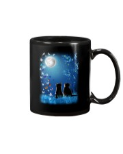 Cat with butterfly at night 2009 Mug thumbnail