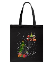 Black cat with gifts 1909 Tote Bag thumbnail