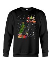 Black cat with gifts 1909 Crewneck Sweatshirt thumbnail