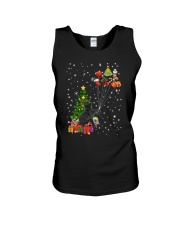 Black cat with gifts 1909 Unisex Tank thumbnail