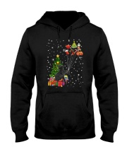 Black cat with gifts 1909 Hooded Sweatshirt thumbnail