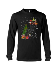 Black cat with gifts 1909 Long Sleeve Tee thumbnail