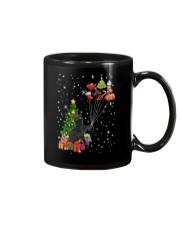 Black cat with gifts 1909 Mug thumbnail
